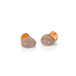 Das Audio Service Ida als IC-Hörgerät in der Farbe Orange