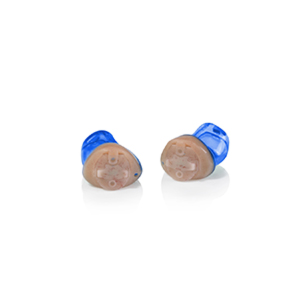 Das Audio Service Ida als IC-Hörgerät in der Farbe Blau