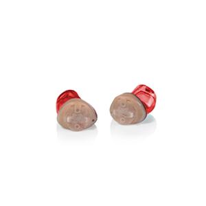 Das Audio Service Ida als IC-Hörgerät in der Farbe Rot