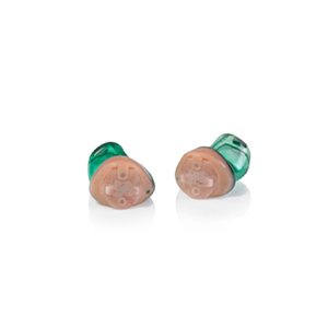 Das Audio Service Ida als IC-Hörgerät in der Farbe Smaragd
