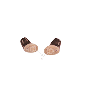 Das Audio Service Sina als IC-Hörgerät in der Farbe Caramel