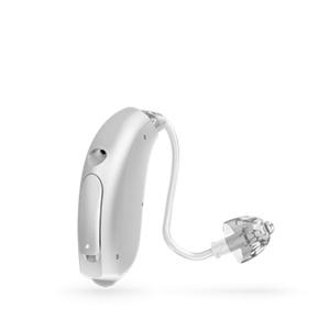 Oticon Nera Ria Alta Mini hinter dem Ohr Hörgerät in der Farbe Silver