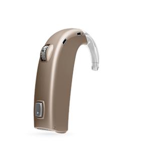 Oticon Dynamo Standard hinter dem Ohr Hörgerät in Terracotta