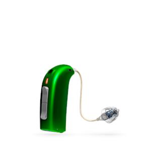 Oticon Sensei Ex-Hörer hinter dem Ohr Hörgerät in EmeraldGreen