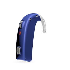 Oticon Sensei-SuperPower Standard hinter dem Ohr Hörgerät in Blue