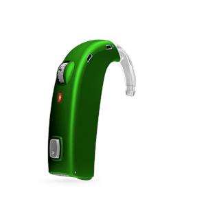Oticon Sensei-SuperPower Standard hinter dem Ohr Hörgerät in EmeraldGreen