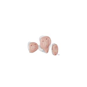 Das Starkey Z-Series als IC- und Concha-Hörgerät in transparent