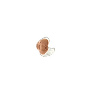 Das Starkey Z-Series als Concha-Hörgerät in transparent