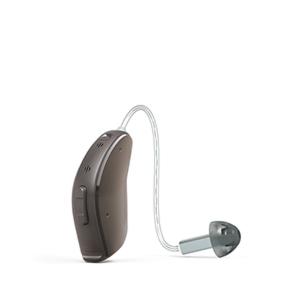 Das ReSound LiNX als Ex-Hörer in der Farbe Glanz-Mittelblond